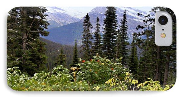 Glacier Scenery Phone Case by Susan Kinney