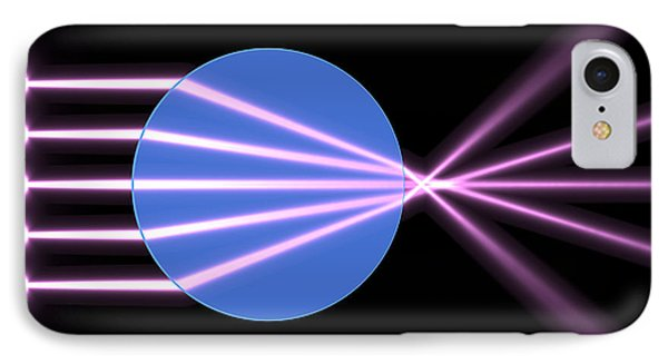 IPhone Case featuring the digital art Glass Ball 2 by Russell Kightley