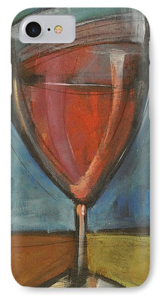 Glass Of Red IPhone Case by Tim Nyberg