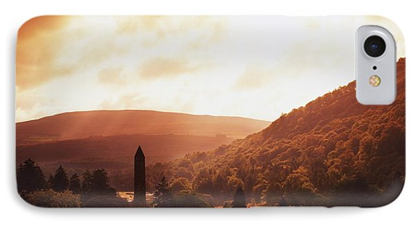 Glendalough, County Wicklow, Ireland Phone Case by The Irish Image Collection