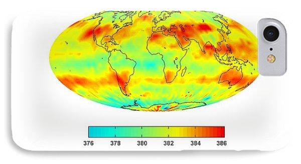 Global Carbon Dioxide Transport, 2008 Phone Case by Nasajpl