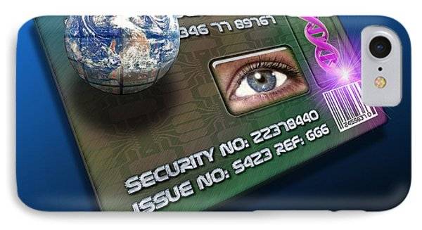 Global Id Card IPhone Case by Victor Habbick Visions