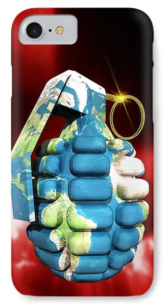 Global Warfare Phone Case by Victor Habbick Visions