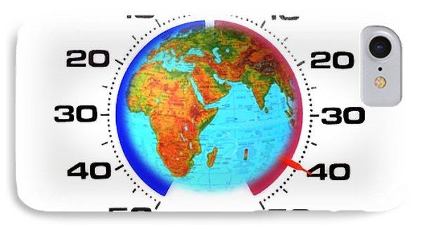 Global Warming,conceptual Image Phone Case by Cristina Pedrazzini