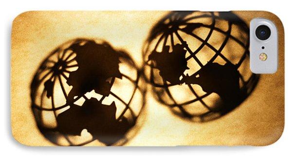 Globe 2 Phone Case by Tony Cordoza