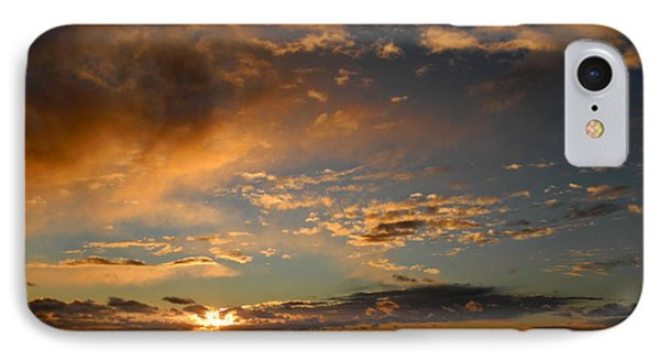 Glorious Sunrise On The Indian Ocean IPhone Case by Kirsten Giving