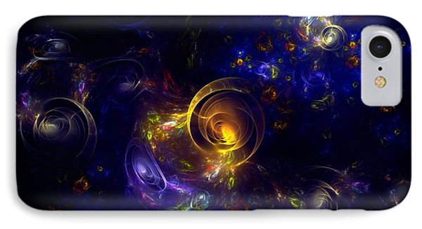Glorious Univers IPhone Case by Klara Acel