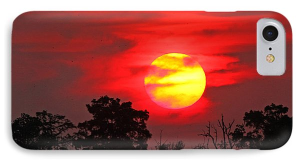 IPhone Case featuring the photograph Glory Ablazed by Luana K Perez