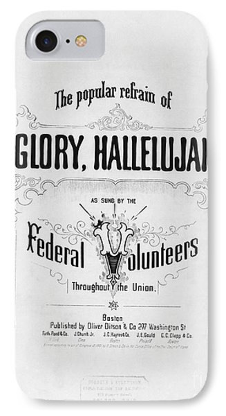 Glory, Hallelujah Phone Case by Photo Researchers