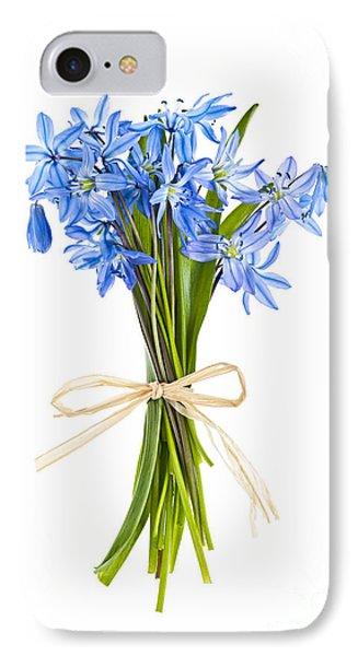 Blue Wildflower Bouquet IPhone Case by Elena Elisseeva
