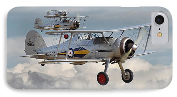 Gloster Gladiator Phone Case by Pat Speirs