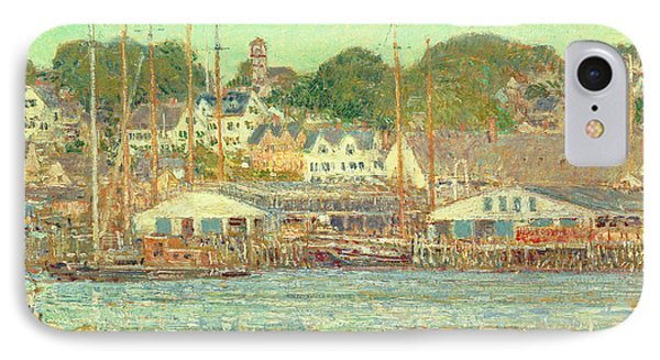 Gloucester Harbor IPhone Case by Childe Hassam