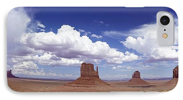 Glove Buttes And Clouds Phone Case by Axiom Photographic