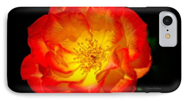 IPhone Case featuring the photograph Glowing Center by Joan Bertucci