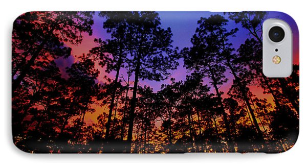 Glowing Forest IPhone Case