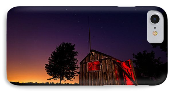 Glowing Shed IPhone Case