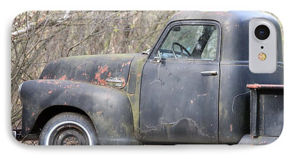IPhone Case featuring the photograph Gmc Rusting At Rest by Mark J Seefeldt