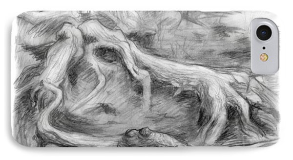 Gnarled IPhone Case by Adam Long
