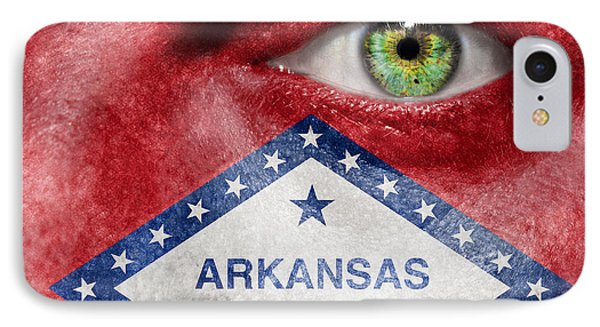 Go Arkansas  Phone Case by Semmick Photo