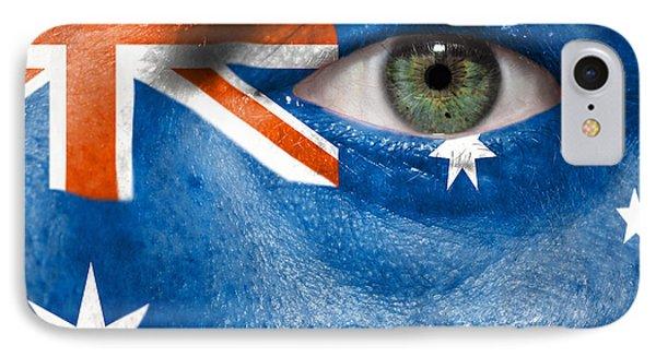 Go Australia Phone Case by Semmick Photo