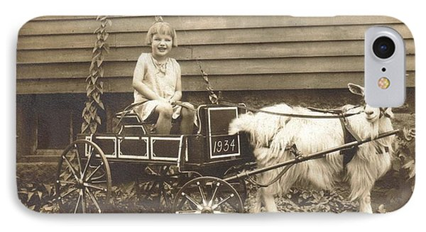 IPhone Case featuring the photograph Goat Wagon by Bonfire Photography