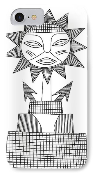 God Of Sun Phone Case by Michal Boubin