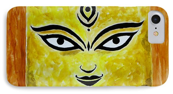 IPhone Case featuring the painting Goddess Kali by Sonali Gangane