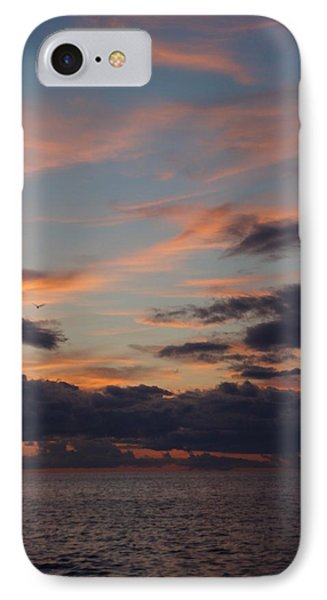 God's Evening Painting IPhone Case by Bonfire Photography