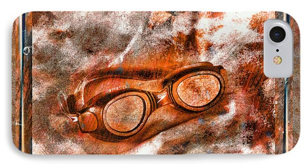 Goggles Phone Case by Mauro Celotti