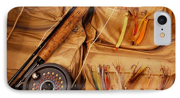 Goin Fishin Phone Case by Skip Willits