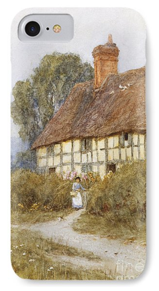Going Shopping IPhone Case by Helen Allingham