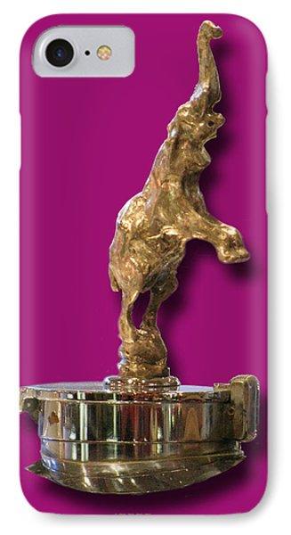 Gold Buggatti Mascot Phone Case by Jack Pumphrey