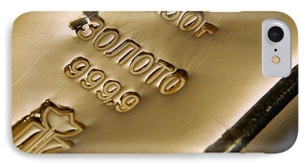 Gold Bullion Phone Case by Ria Novosti