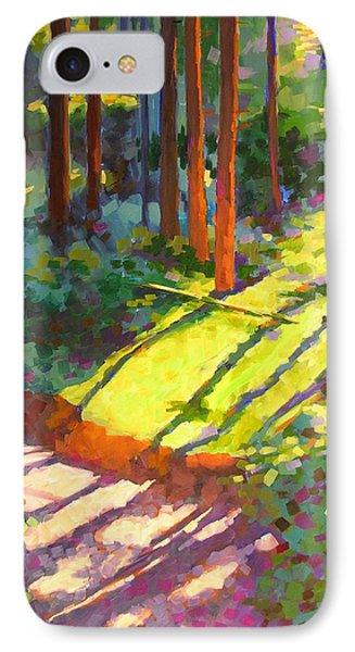 Gold Creek Trail Phone Case by Mary McInnis