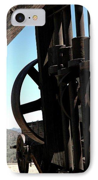 Gold Mining Stone Crusher Phone Case by LeeAnn McLaneGoetz McLaneGoetzStudioLLCcom