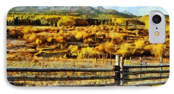 Golden Autumn Phone Case by Jeff Kolker