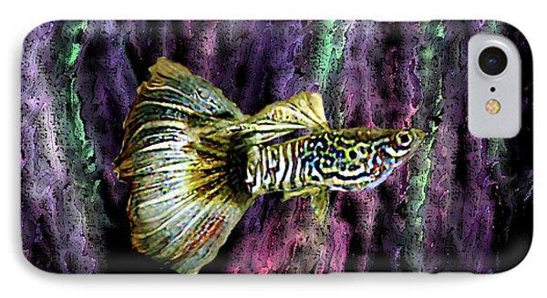 Golden Fish Phone Case by Mario Perez