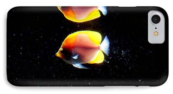 Golden Fish Reflection IPhone Case
