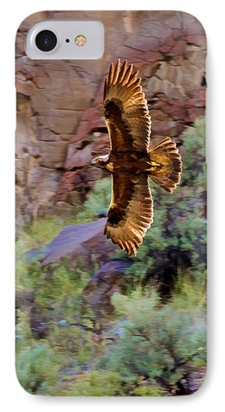 IPhone Case featuring the photograph Golden Flight  by Britt Runyon