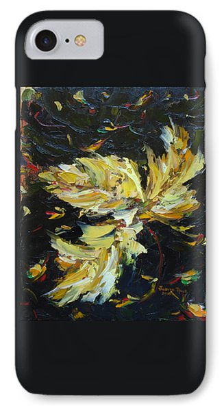 IPhone Case featuring the painting Golden Flight by Judith Rhue