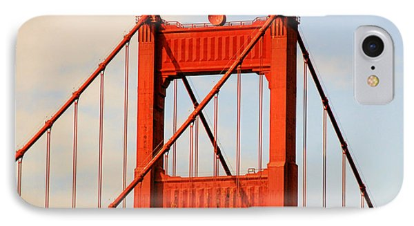 Golden Gate Bridge - Nothing Equals Its Majesty Phone Case by Christine Till
