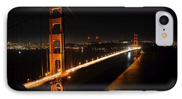 Golden Gate Bridge 2 IPhone Case by Vivian Christopher