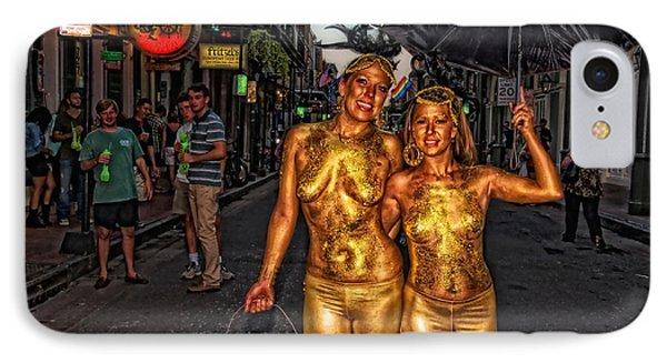 Golden Girls Of Bourbon Street  Phone Case by Kathleen K Parker