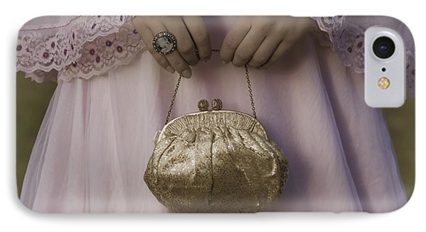 Golden Handbag Phone Case by Joana Kruse