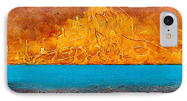 Golden Island  Phone Case by Mauro Celotti