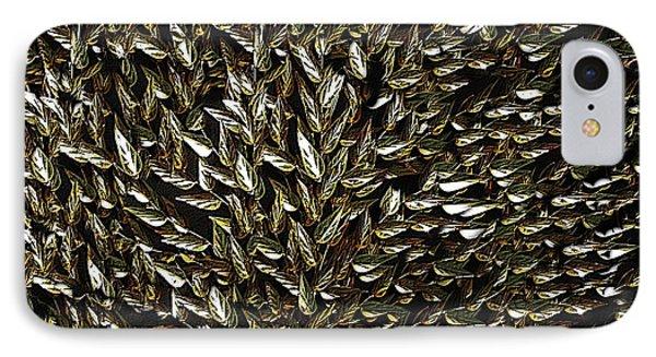 Golden Leaf Phone Case by David Dehner