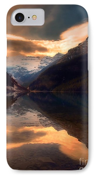 Golden Light On The Rockies Phone Case by Tara Turner