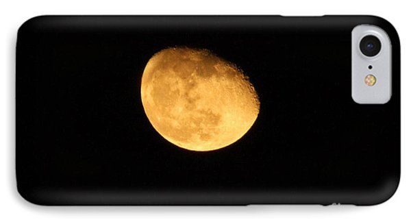 Golden Moon IPhone Case by Tyra  OBryant