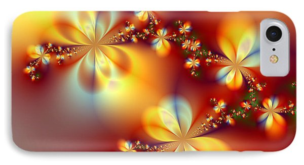 Golden Paradise IPhone Case by Ester  Rogers