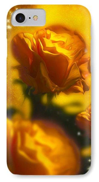 Golden Roses Phone Case by Svetlana Sewell
